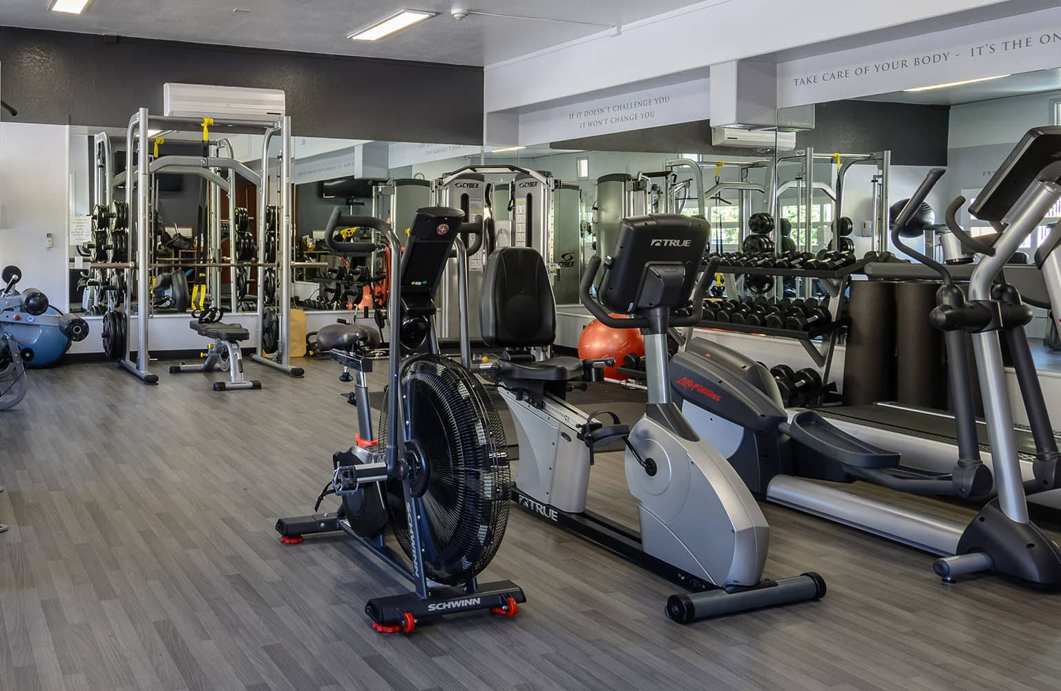 Full Gym with Personal Trainers
